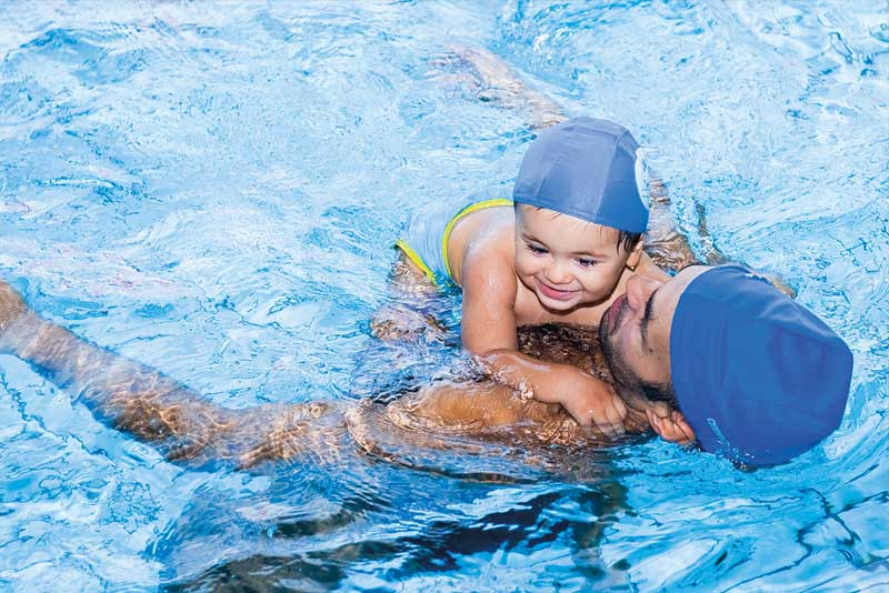 Corsi nuoto baby Gymnasium
