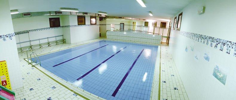 piscine interne Gymnasium Water Age Cordenons